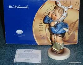 "50th Anniversary ""Boy With Toothache"" Goebel Hummel Figurine #217 TMK8 With Box! - $173.63"