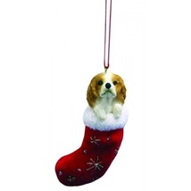 Cavalier King Charles Spaniel Santa's Little Pals Dog Christmas Ornament - $8.99