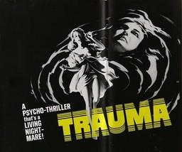 TRAUMA (1962) - Classic Horror B-Movie - Buy 2 DVD's, Get 1 FREE - $7.49