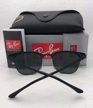 Polarized RAY-BAN Sunglasses CLUBMASTER METAL RB 3716 187/58 Black-Gold ... - $219.95