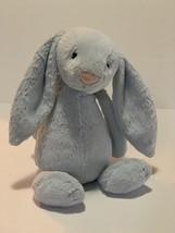 "Jellycat Baby Blue Bunny Rabbit Plush Stuffed Animal Toy Chime Rattle 12"" - $15.84"