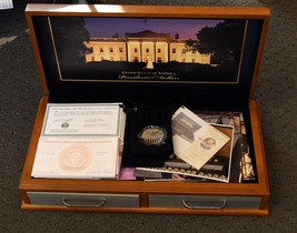 World Reserve Exchange Presidential Dollar Case w/Paperwork and Pics Com... - $98.99