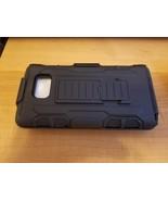 Shockproof Armor Hybrid Rugged Impact Hard Stand Belt Clip Holster Case ... - $10.00