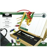 Easel Art Set W/Easy To Store Bag-Oil Color FOB: MI - $83.68