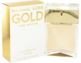 Michael Kors Gold Luxe Edition Perfume 3.4 Oz Eau De Parfum Spray image 4