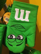 M&M's World Green Character Oven Mitt New with Tag - $14.83