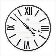 Sterling & Noble Farmhouse Collection Modern Urban 20-Inch Wall Clock in... - $47.49