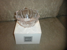 unused Mikasa Previn Crystal Bowl #020911771424 Made in Austria T8169-715 in box - $7.59
