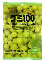 Kasugai Muscat Gummy Candy 3.77oz (3 Pack) - $12.76