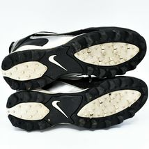 Nike Land Shark Legacy Boy's Youth Kids Black & White Football Cleats Size 6Y image 5