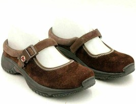 Merrell Women Mary Jane Flats MOC Qform Size US 6 Brown Suede - $19.00