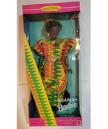 Mattel Doll Ghanian Collectors Edition 1996 Barbie Doll #15303 Used - £20.96 GBP
