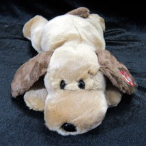 TY Beanie Buddy Bones Brown Puppy Dog 2000 100% Tylon Retired Plush Toy ... - $18.99