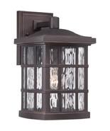Quoizel SNN8408PN Stonington 1-Light Outdoor Lantern, Palladian Bronze - $132.52