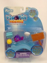WowWee Alive Fin Fin Friends Accessory Pack with Hermit Crab New 2010 Se... - $12.42