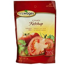 Mrs. Wages Ketchup Tomato Seasoning Mix, 5 Oz. Pouch (Pack of 2) - $19.99