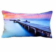 PANDA SUPERSTORE Bed Pillows Cushion Backrest Pillow Floor Pillow Pillow Cover P