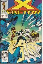 Marvel X Factor #28 Cyclops Iceman Beast Marvel Girl Mutants Adventure - $2.95