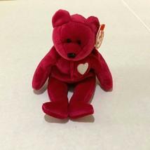 Retire TY Beanie Baby RARE Collective Valentina the Bear Beanie Baby 199... - $128.69