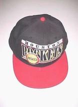 Houston Rockets Basketball Logo NBA Adult Unisex Black Red Cap One Size  - $22.76