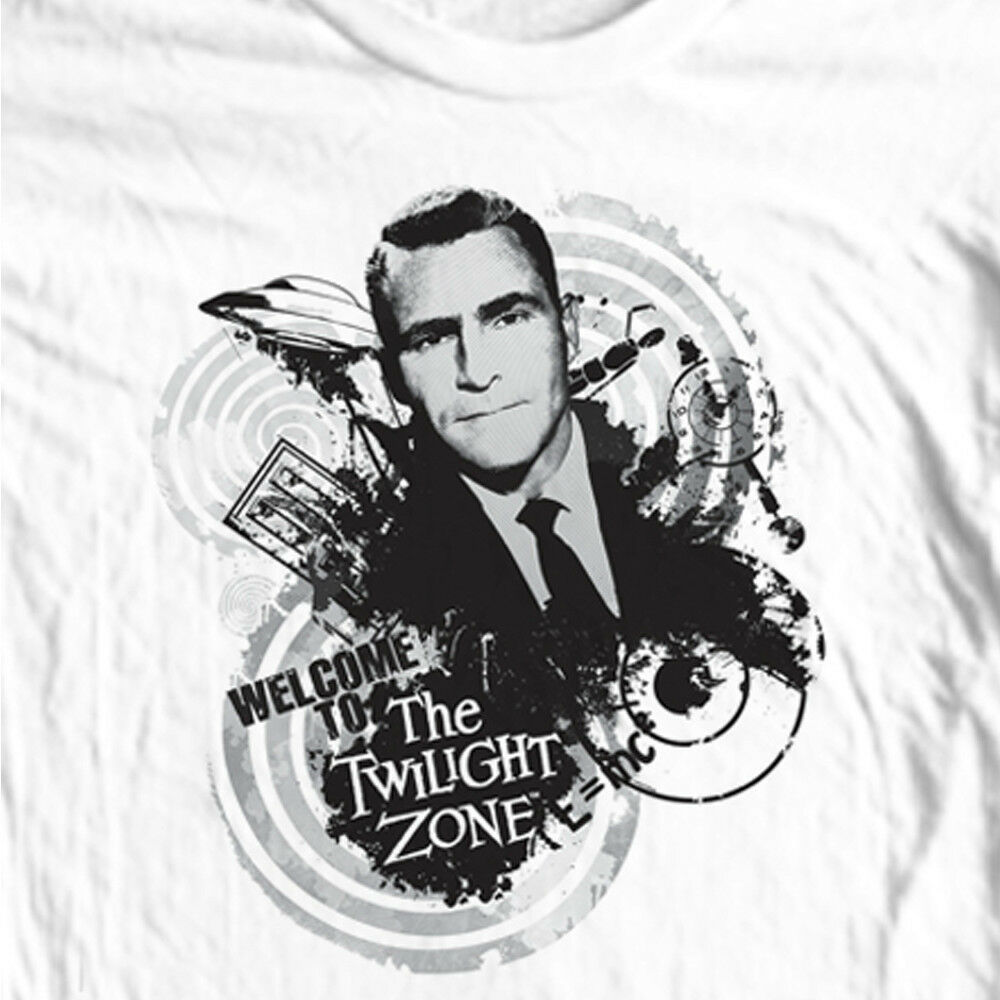 The Twilight Zone T-shirt vintage science fiction TV show 100% cotton mens tee