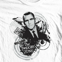 The Twilight Zone T-shirt vintage science fiction TV show 100% cotton mens tee image 1