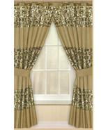 Popular Bath Sinatra Window Curtain, Champagne - $27.70