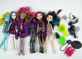 Monster High Ever After High Dolls Lot of 6 Dolls w Clothes Shoes & Accessories - $59.39