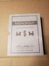 Monopoly Vintage Bookshelf Edition Deluxe Collectible Linen Book Board Game - $29.99