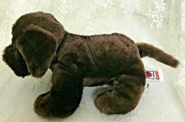 "GANZ Webkinz Chocolate Lab Plush Toy No Code Nose to Tail 11"" Super Soft  - $11.39"