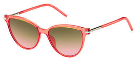 Marc Jacobs Marc 47/S Sunglasses 0TOT 53 Coral (FX brown - $130.50