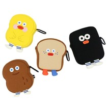Brunch Brother Big Compact Makeup Cosmetic Airpods Pouch Bag Case Keyring