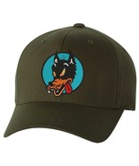 Grateful Dead Wolf Embroidered Flexfit Olive Ball Cap - PACKAGE OF 2 HATS - $33.00