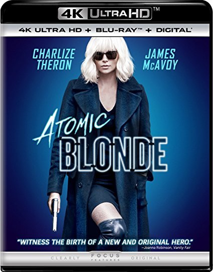 Atomic Blonde [4K Ultra HD + Blu-ray + Digital]