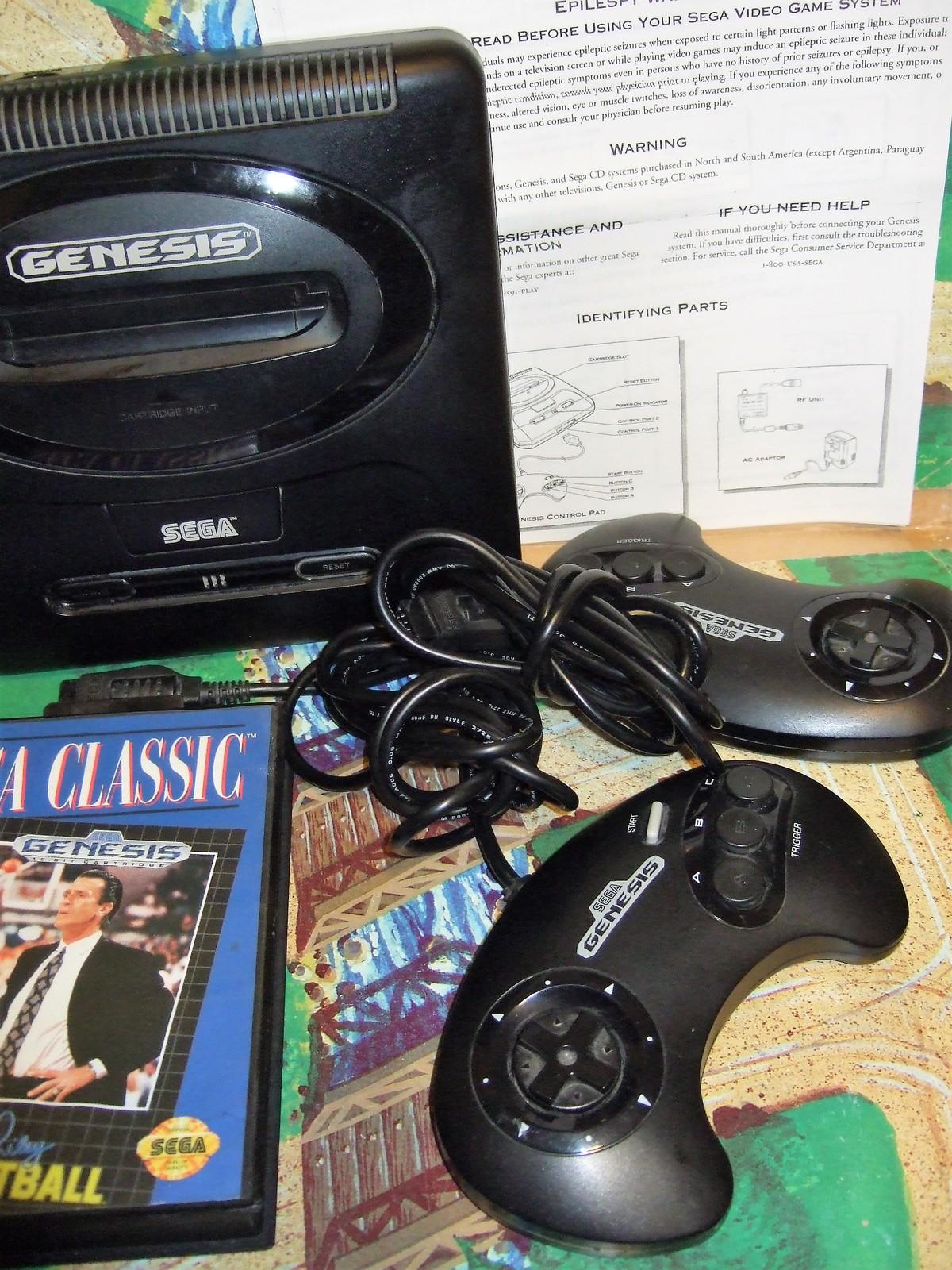 Sega Genesis Console System (Complete)