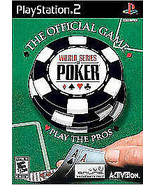 World Series of Poker Playstation 2 PS2  Complete CIB - $7.75