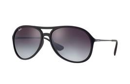 Rayban Sonnenbrille Alex RB4201 622/8G Schwarz-Grau Farbverlauf 59mm Aut... - $102.89