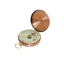 Easy Classic Metal Brass Pocket Watch Style Camping Compass Outdoor Tool... - $10.30