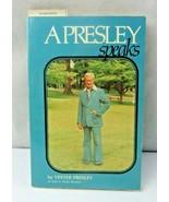 Signed Vester Presley Book A Presley Speaks / Elvis Uncle Vintage paperb... - $50.00