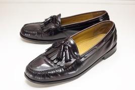 Cole Haan 12 Brown Tassel Kiltie Loafers Men's Dress Shoes - $36.00