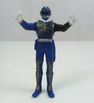 "2004 Bandai Power Rangers SPD Sound Patrol Blue Ranger 3.5"" Vinyl  Figure - $9.74"