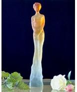 """Daum Oceane 14"""" Elegant Lady Pate de Verre Jean Philippe Richard Ltd Edi... - $1,331.55"""