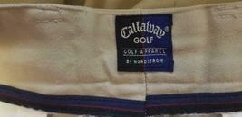 Men's Callaway Golf Pants, Size 34, Beige image 4