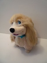 Disney Store Authentic Peg Pekingese Dog Stuffed Plush Lady and the Tram... - $64.35