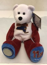 Limited Treasures State 2001 Quarters Coin Teddy Bear New York #11 - $5.00
