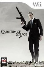 James Bond 007: Quantum of Solace (Nintendo Wii, 2008) - $3.55