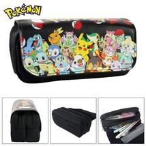 Pokemon Game Theme Pencil Case Pen Bag Pikachu - $19.99