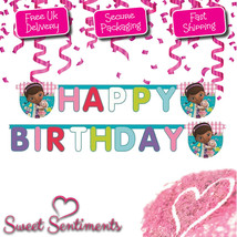 Doc McStuffins Birthday Letter Banner  • Official Disney Product - $3.88