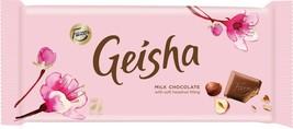 Fazer Geisha Milk & Dark Chocolate Bars 121 gram Made in Finland image 2