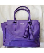 Coach Legacy Ultraviolet Purple Candace Smooth Leather 19890 - $128.70